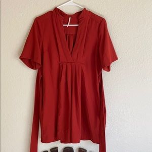 Free People short tunic with wrap belt.